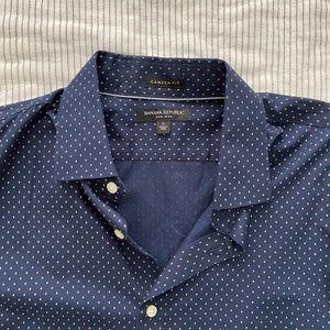 BR Navy Dress Shirt